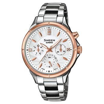 Reloj Casio Sheen Mujer SHE 3047SG 7AUER