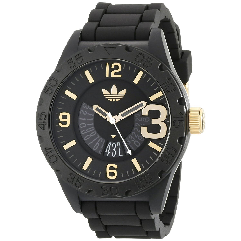 Reloj Adidas Negro Hombre Joyas De Plata