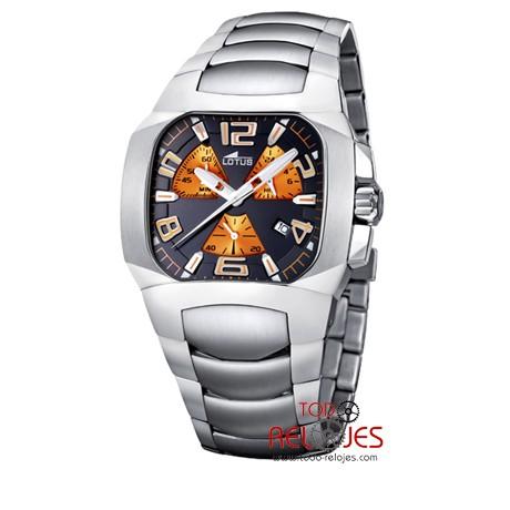 revisa 196a3 cc621 Reloj Lotus Code Acero Hombre 15501/7