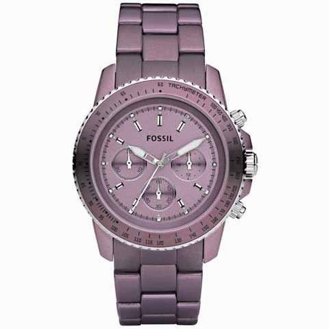 0f0bcbc55690 RELOJES FOSSIL Reloj FOSSIL XL Stella Purpel Mujer CH2747 Price and ...
