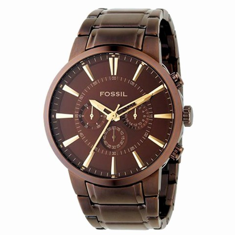 b8c2a5ee6615 Reloj Fossil Cronografo Brown Hombre FS4357 RELOJES FOSSIL Ofertas