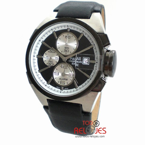 Pulsar Hombre Reloj Chronograph PF3603X Reloj hCsQtrd