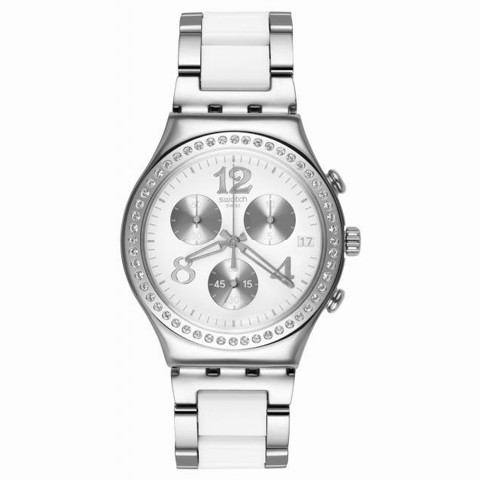 gran descuento cebaa 56c78 Reloj Swatch Secret Thought white YCS552G