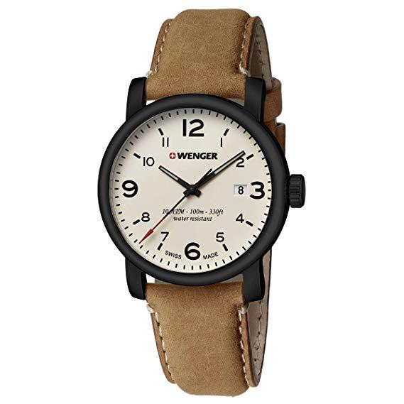 f9db380b8b10 RELOJES WENGER Reloj Wenger Urban Hipster Beige Brown Hombre 01.1041 ...