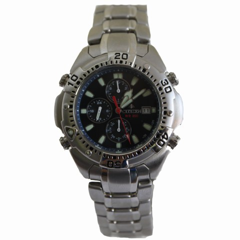 Caballero Citizen Acero Ai3400 61l Promaster Cuarzo Reloj rCxthQds