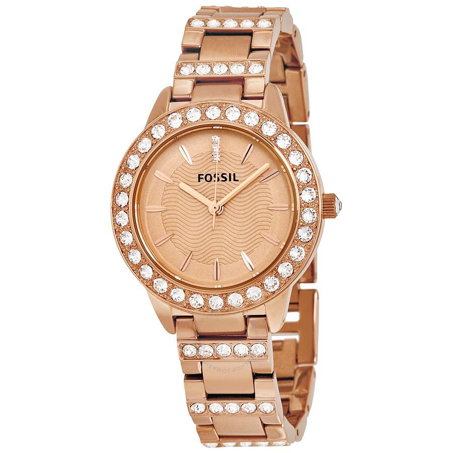 1baad6ea0441 Reloj Fossil Jesse Crystal Rose Gold Mujer ES3020 RELOJES FOSSIL Ofertas