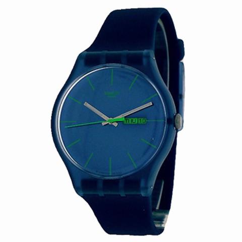 Suon700 Hombre Rebel Reloj Blue Swatch nOwN80vm